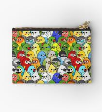 Too Many Birds! Bird Squad 1 Studio Pouch