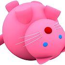 Rosa Katze von lathspell