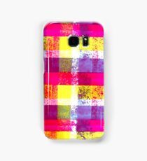 Plaid Grafitti Samsung Galaxy Case/Skin