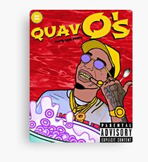 QuavO's Cereal (RED) Canvas Print
