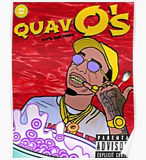 QuavO's Cereal (RED) Poster