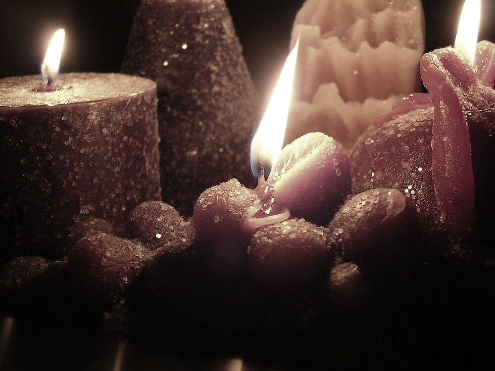 Candlelight Fruit by AlwaysJer