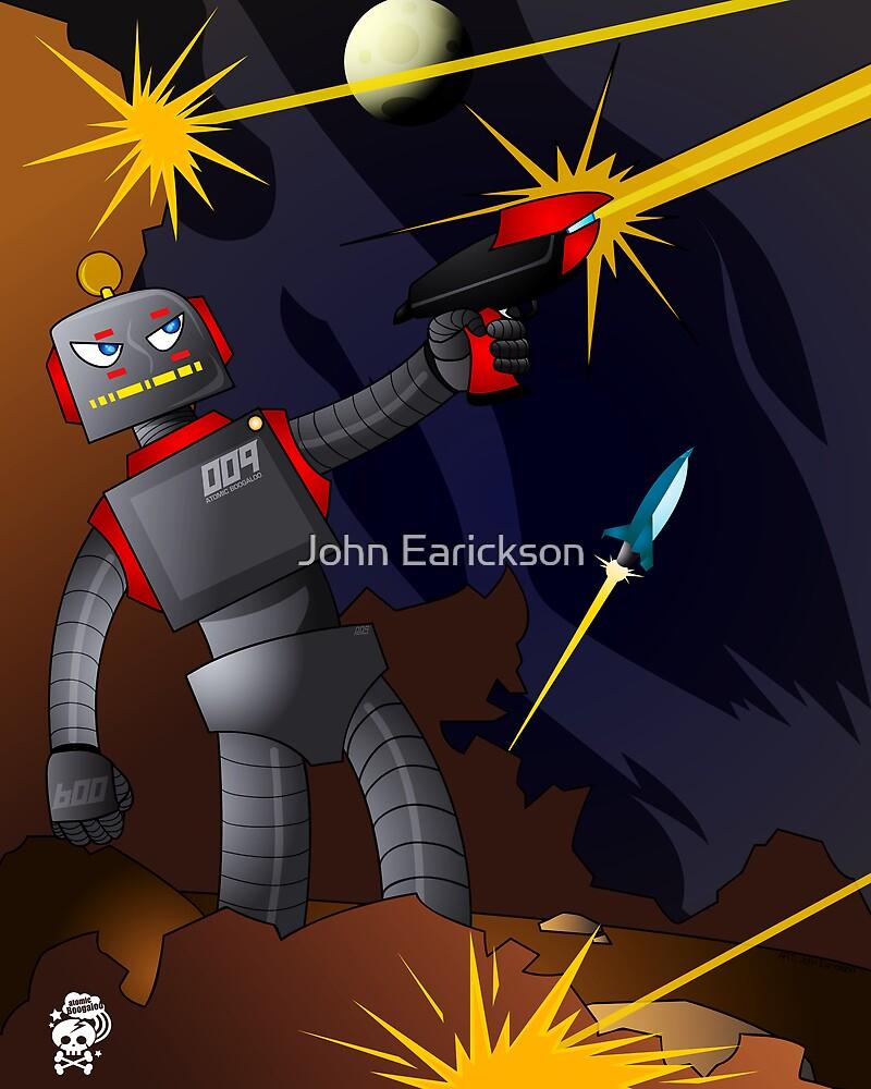 Gun Slinger Robo - Fire Fight by John Earickson