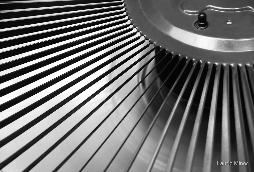 AC Fan In Motion by Laurie Minor