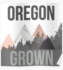 Oregon Grown Poster