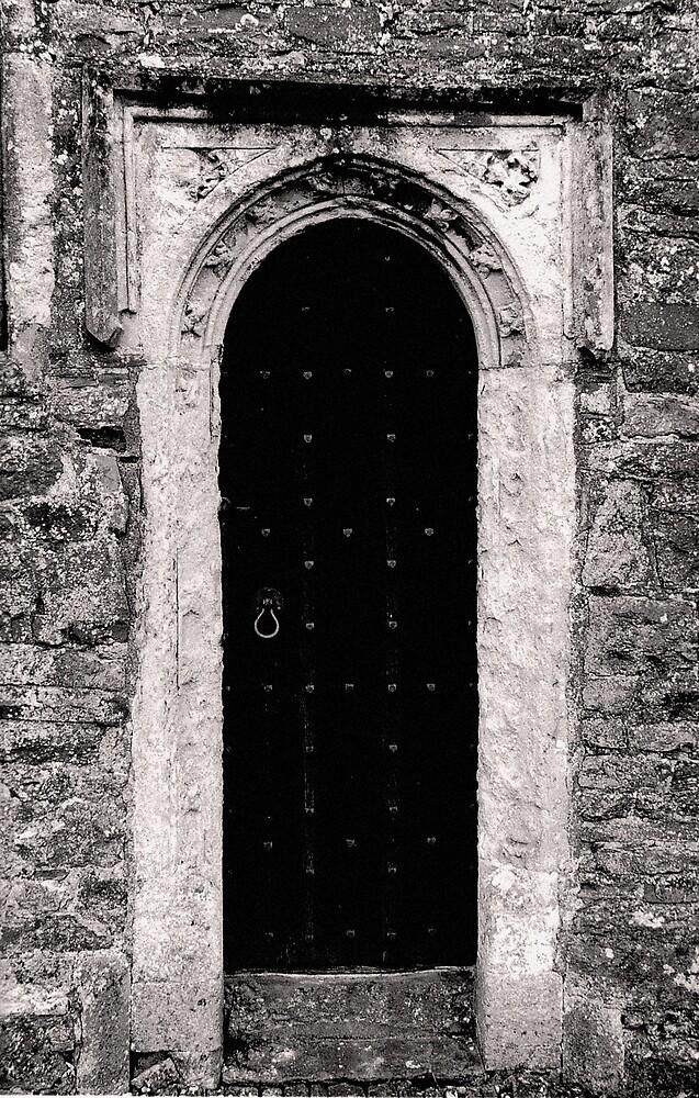 Medieval Door by kitlew