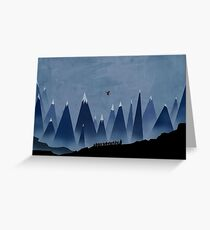 Lord of the Rings Greeting Card