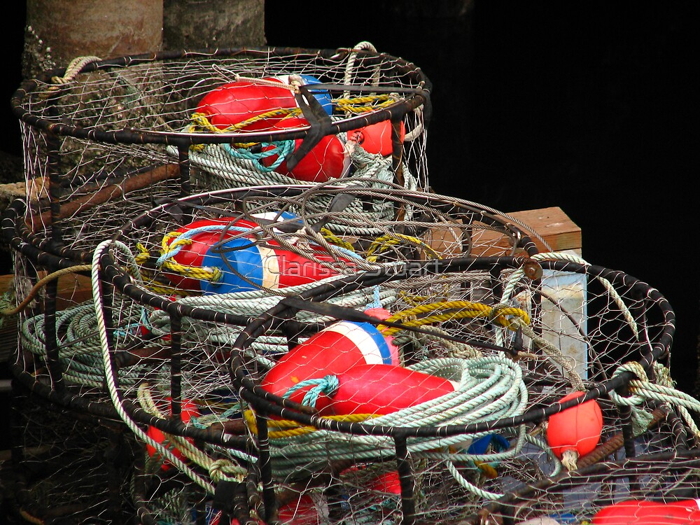 Crab Pots by Clarissa Stuart