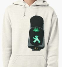 Lights, traffic, action Pullover Hoodie