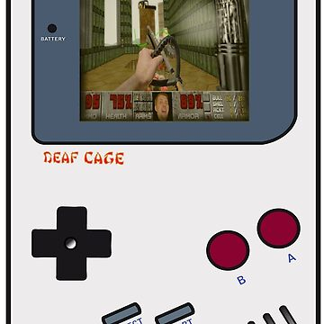 DOOM Weed-Eater on GameBoy by kdume