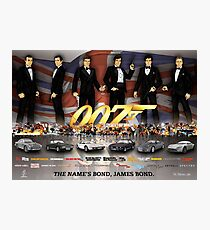 James Bond  Photographic Print