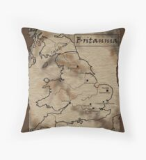 Provincia Britannia Throw Pillow