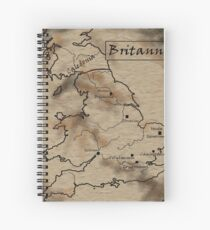 Provincia Britannia Spiral Notebook