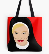 Jessica Lange as Sister Jude from Asylum Tote Bag