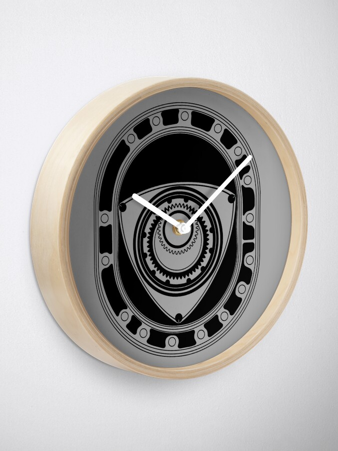 Alternate view of Rotary Clock
