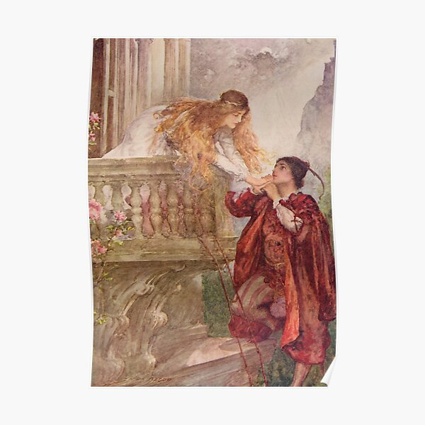 John H. F. Bacon - Romeo And Juliet 1858 Poster