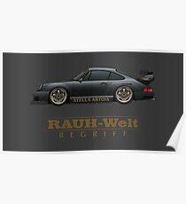 RWB Porsche 911 Poster