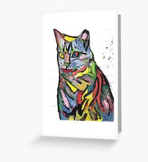 Fauvist Misty Greeting Card