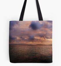 Sunset at Albany Tote Bag