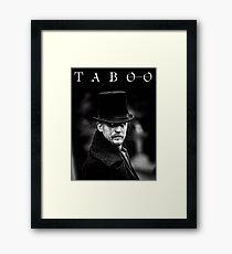 TABOO TV Framed Print