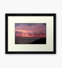 Light of Freedom Framed Print