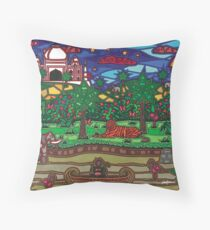 L'Inde Throw Pillow