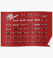 Alfa Romeo Family Poster