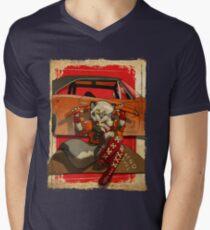 Wolf Girl 2 Men's V-Neck T-Shirt