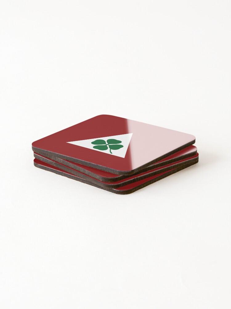 Alternate view of Quadrifoglio Classic Alfa Romeo Coasters (Set of 4)