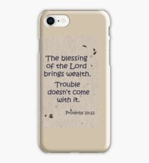The Blessing iPhone Case/Skin