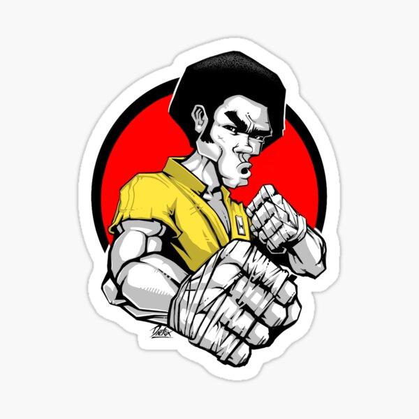 KUMITE JIM Sticker