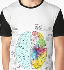 The Brain Infographic Graphic T-Shirt