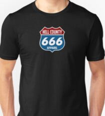 Route 666 - Hell County Unisex T-Shirt