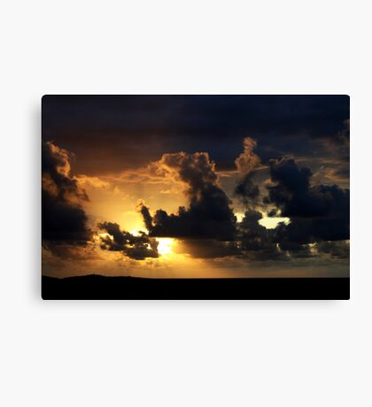 As The Sun Rises High In The Sky Canvas Print