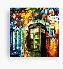 Time Lord Painting Art Canvas Print