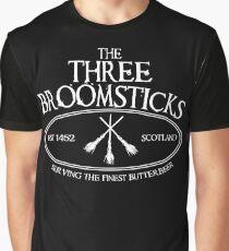 The Three Broomsticks Graphic T-Shirt