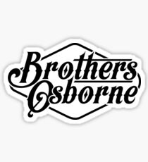 Brothers Osborne Sticker
