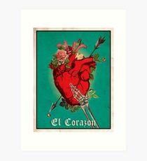 El Corazon Kunstdruck