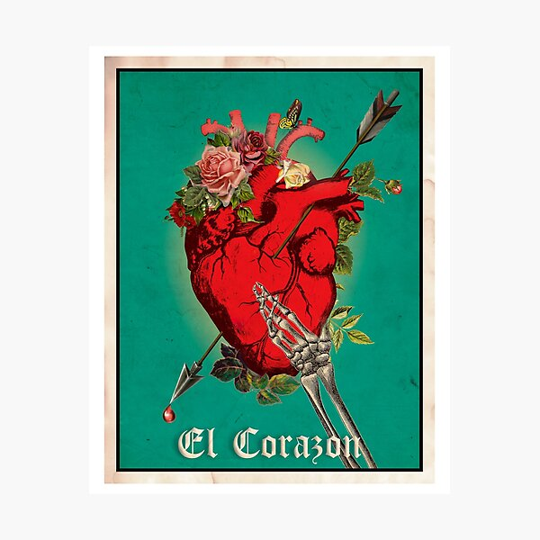 El Corazon Photographic Print