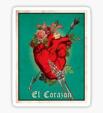 El Corazon Sticker