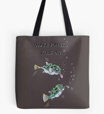 Dwarf Puffer Fish... they're OK! Tote Bag