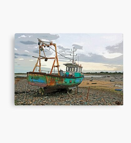 Guernsey Fishing Boat Canvas Print
