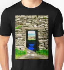 Entrance to Grianan of Aileach, Donegal, Ireland Unisex T-Shirt