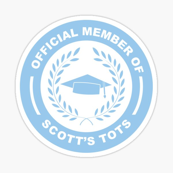 Scott's Tots Sticker