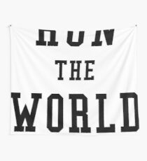 Feminist Run The World Wall Tapestry