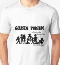 Golden Podium Silouettes Unisex T-Shirt