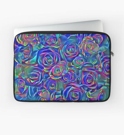 Roses of cosmic lights Laptop Sleeve