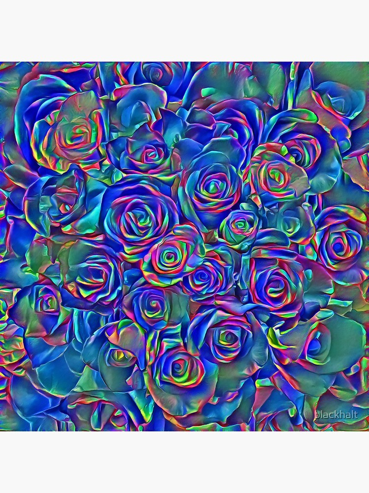 Roses of cosmic lights by blackhalt