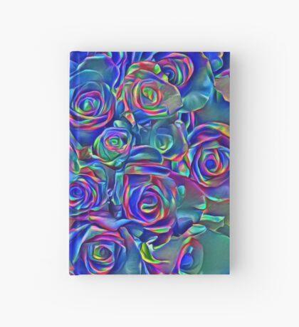 Roses of cosmic lights Hardcover Journal
