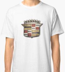 Cadillac Emblem Pattern Classic T-Shirt